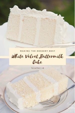 Gateau Au Babeurre De Velours Blanc In 2020 Buttermilk Cake Recipe Desserts Cake Recipes
