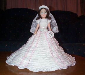 PEARL free crochet bed doll pattern for 15 inch fashion doll