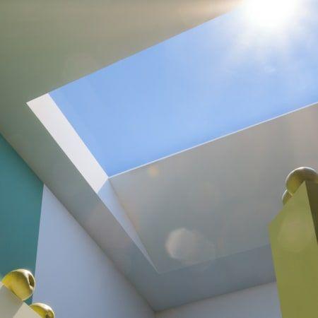 Diese Lampe Verpasst Eurem Zimmer Einen Kunstlichen Himmel Himmel Blauer Himmel Und Sonnenlicht
