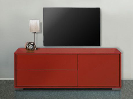 meuble tv kira 1 porte 2 tiroirs