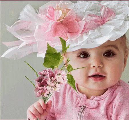 Baby Flower GIF - Baby Flower Blinking - Discover & Share GIFs
