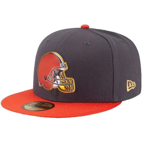 1dfc95c9619 NFL New Era 59Fifty Cleveland Browns Fitted Hat Size 7 1 8 GOLD COLLECTION  5950  NewEra  ClevelandBrowns