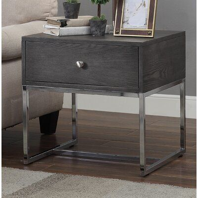 Brayden Studio Beckwith End Table In 2020 End Tables With Storage End Tables Furniture
