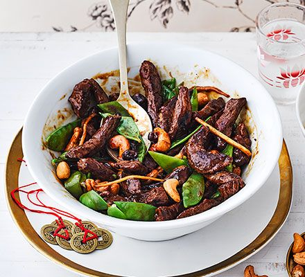 Beef With Mangetout Cashews Bbc Good Food Recipes Food Beef