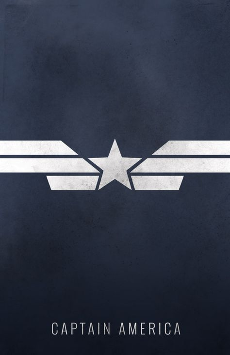 Captain America: Winter Soldier Minimalist Poster