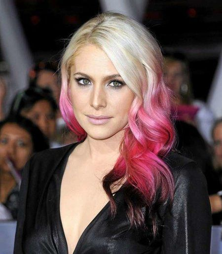 L Oreal Hairchalk On Blonde Hair Wow Really Vibrant And Washes