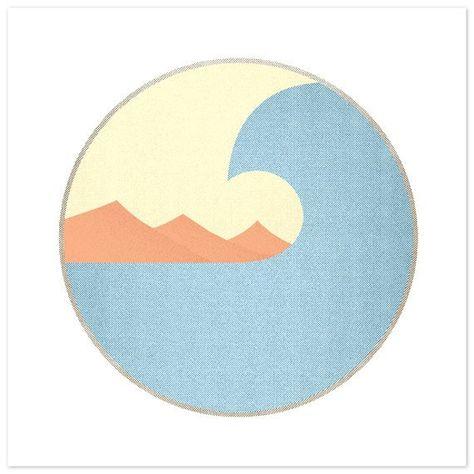 Surfing Art x Art Print