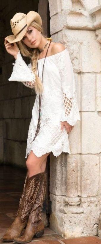 20 Best Country Western Dresses For Weddings 21 Cowgirl Dresses Country Western Dresses Western Outfits Women