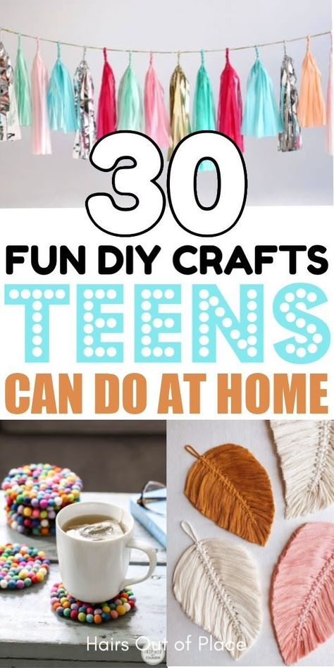 15 Fun Crafts for Teens