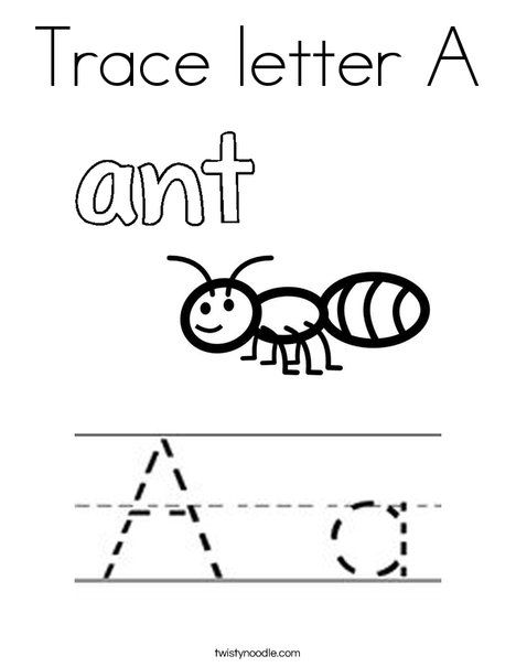 Trace Letter A Coloring Page Twisty Noodle Alphabet Coloring Pages Letter A Coloring Pages Preschool Coloring Pages