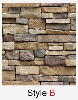 60cm 10m Self Adhesive Wallpaper Pvc Waterproof Stone Wallpapers Brick Wall Paper Decor Brick Wallpaper Peel And Stick Wall Stickers Home Decor Brick Wallpaper