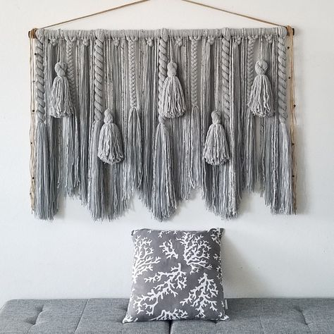 New gray hanging now available! Contact me if you would like any other hanging in this color.