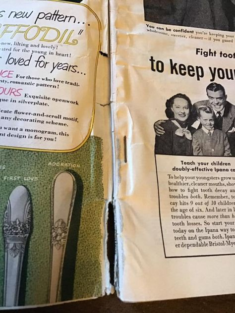 Vintage 1950's Magazine Dated December 1950 *MOVIE STORY* Advertising/Articles/Gossip Has Condition Issues Sold As Is!!