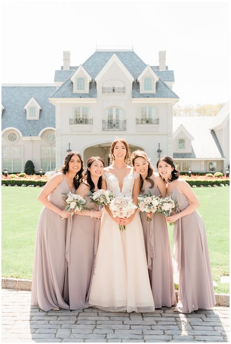Park Chateau Spring Wedding | Amy & Andy - jenniferlarsenphoto.com | Michelle Elise Artistry | A Touch of Elegance | Magnolia Even Rentals | The Shaded Maple | Hudson Cakery | The Shaded Maple #weddingday #springwedding #parkchateau #njwedding