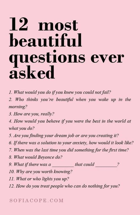 12 most beautiful questions ever asked on We Heart It