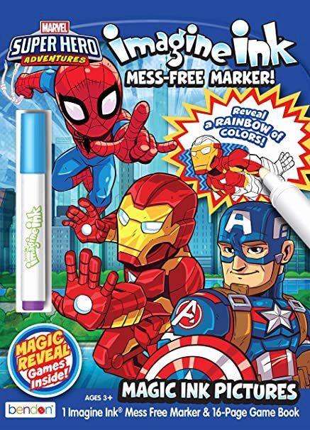 Magic Ink Coloring Book Fresh Marvel Super Hero Adventures Imagine Ink Magic Ink Coloring Book Coloring Books Stress Coloring Book Anti Stress Coloring Book