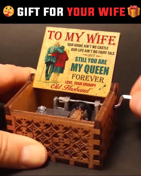 Personalized Music box can be a perfect and ideal for anniversary gifts, Valentine's Day gift, Birthday gift, christmas gifts, graduation gifts. 💖  ❤ 100% Satisfaction Guarantee❤ We guarantee a 100% satisfaction and in case of any complains or dissatisfaction, you are guaranteed your money back upon return of the product.