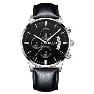 Reloj Lujo Oro Marca Nibosi Deportivo A Prueba De Agua Cuarzo Para Hombre Reloj Camisas Masculinas Y Hombres