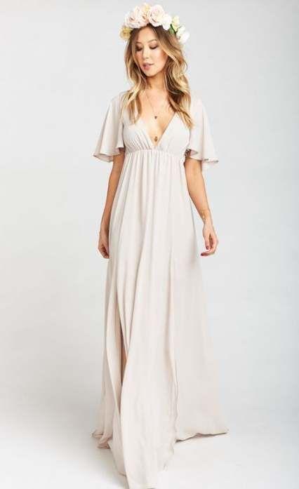 Best Wedding Beach Hairstyles Maxi Dresses Ideas Trendy Wedding
