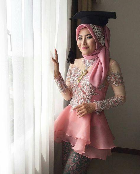 Regram From Fauziahanum Iis In 2019 Kebaya Dress Kebaya Muslim