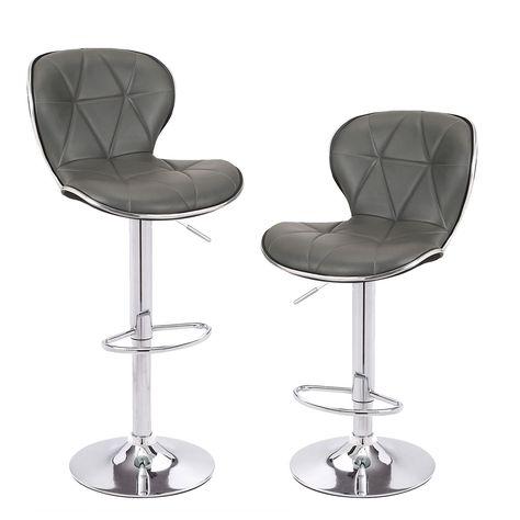 Surprising Adeco 360 Degree Swivel Adjustable Hydraulic Lift Bar Stool Machost Co Dining Chair Design Ideas Machostcouk