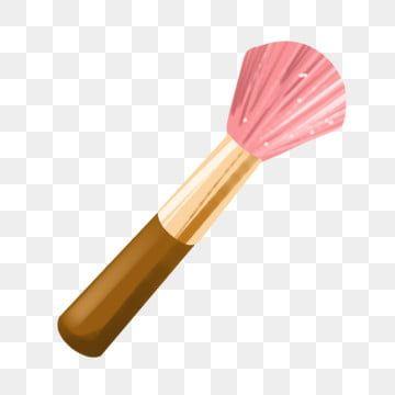 Makeup Brush Pink Cosmetics Makeup Clipart Brush Stroke Make Up Cosmetic In 2020 Pink Makeup Brush Makeup Clipart Pink Brushes