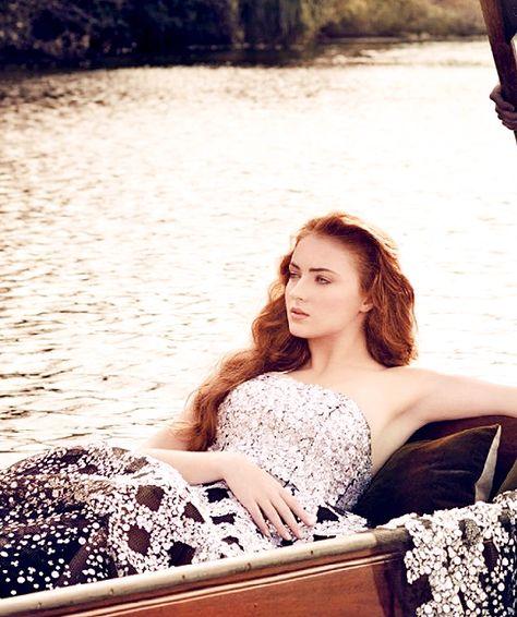 "fyeahsophieturner: ""Sophie Turner in Vanity Fair's Hollywood Issue, March 2015 """