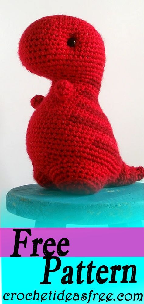 Dino / DROPS Children 24-7 - Free crochet patterns by DROPS Design | 997x474