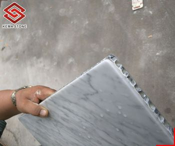 Lightweight Honeycomb Composite White Marble Stone Countertop And