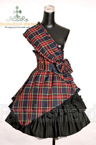 Note to self: make in clan tartan with a white underskirt, Scottish lolita!