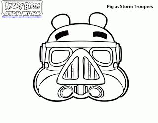 Angry Birds Star Wars Coloring Pages Ii Angry Birds Star Wars Angry Birds Pigs Space Coloring Pages