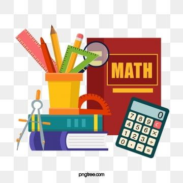 Mathematics Book Pen Holder Calculator Math Compass Ruler Magnifying Glass Protractor Mathematics Compasses Ruler Png Transparent Clipart Image And Psd File Math Clipart Math Wallpaper Math