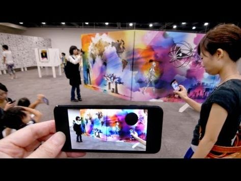 Augmented Reality Museum in Japan