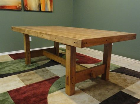 Craftsman Style Dining Table Items Similar To Craftsman Style