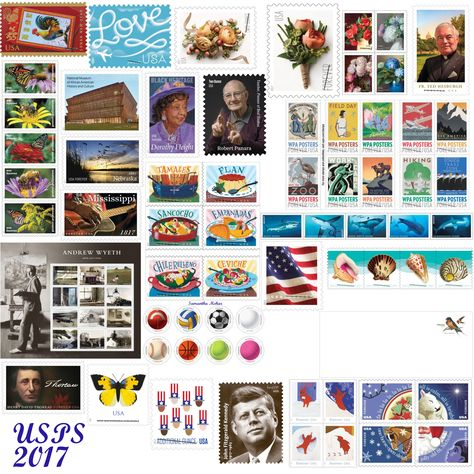 Usps 2017 Stamp Previews Photo Wall Stamp Home Decor