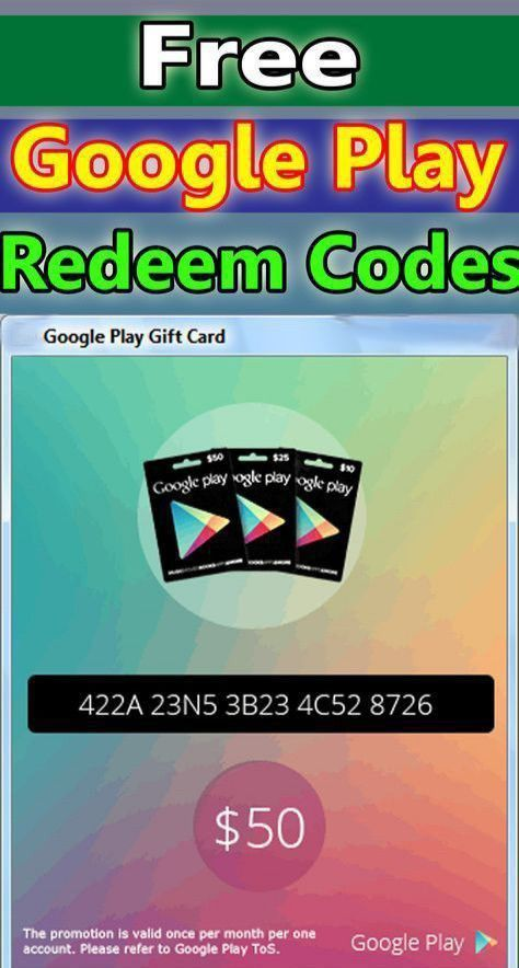 Google Play Free Gift Card In 2020 Google Play Gift Card Free Gift Cards Online Google Play Codes