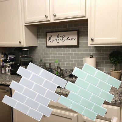 Diy Mosaic 3d Self Adhesive Wall Tile Sticker Pet Bathroom Kitchen