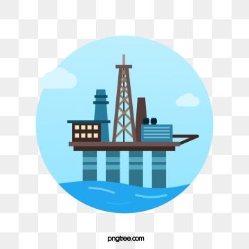 Offshore Oil Exploration Ocean Oil Drilling For Oil Png And Vector With Transparent Background For Free Download Oil Painting Background Watercolor Background Offshore
