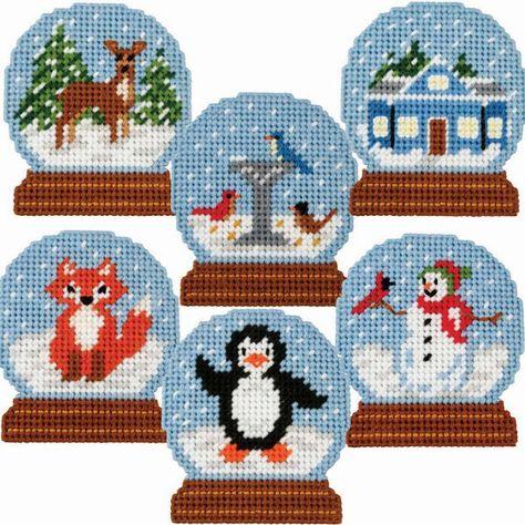 Plastic Canvas Stitches, Plastic Canvas Coasters, Plastic Canvas Ornaments, Plastic Canvas Tissue Boxes, Plastic Canvas Christmas, Plastic Canvas Crafts, Plastic Canvas Patterns, Cross Stitch Christmas Ornaments, Christmas Cross