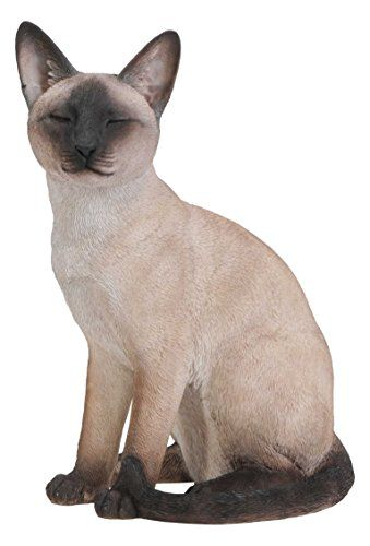 Cheap Hi Line Gift Ltd Sitting Siamese Cat Statue Cat Statue