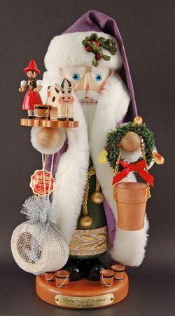 TWELVE DAYS OF CHRISTMAS #5 NUTCRACKER. love the purple robe
