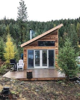 46 Stunning Tiny House Design Ideas Tiny House Interior Design Tiny House Cabin Small House