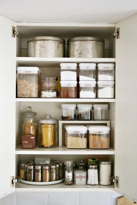 Best Kitchen Organization Containers Cupboards Ideas