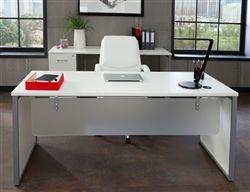 Ofm Fulcrum Modern Executive Furniture Set Furniture White