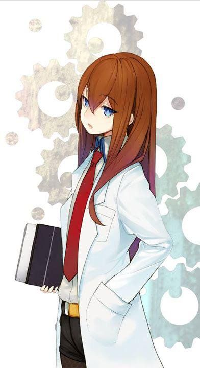 Bla Bla Bla Said Red Haired Red Necktie Scientist Girl Of