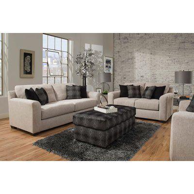 Brayden Studio Davy 2 Piece Living Room Set