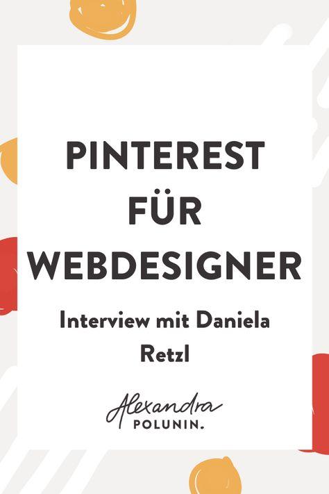 Dass Pinterest ausschließlich für Lifestyle-Blogger, Food- oder DIY-Blogger geeignet ist. Auch wenn du berufsbedingt keinen visuellen Content hast, kannst du ein Stück vom Pinterest-Kuchen abhaben und Pinterest erfolgreich für dein Business nutzen. Auf dem Blog verrät Daniela Retzl von Miss Webdesign wie sie als Webdesignerin Pinterest für ihr Marketing nutzt. Die Plattform bringt ihr dabei nicht nur Traffic, sondern auch Kunden. #onlinebusiness #pinterestmarketing #alexandrapolunin