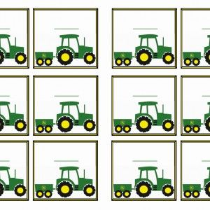 John Deere Printable Birthday Invitations Click Image Below To Enlarge And Print