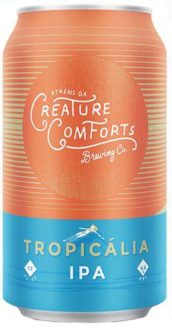 Creature Comforts Brewing Company Tap Handle Seasonal