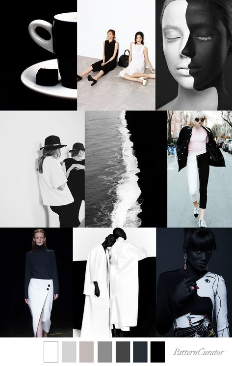 YIN YANG - color, print & pattern trend inspiration for FW 2019 by Pattern Curator. Pattern Curator is a trend service for color, print and pattern inspiration.